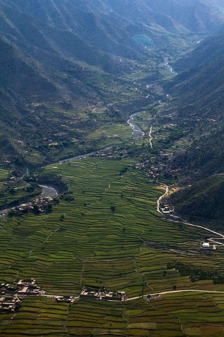 Farmland in Afghanistan by mofig