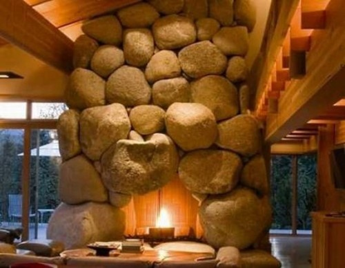 Fire Clay Rock : Great fireplace robin inspiration telluride home
