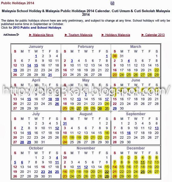 Public Holiday Calendar 2015 Malaysia | calendar | Holiday ...  Public Holiday ...