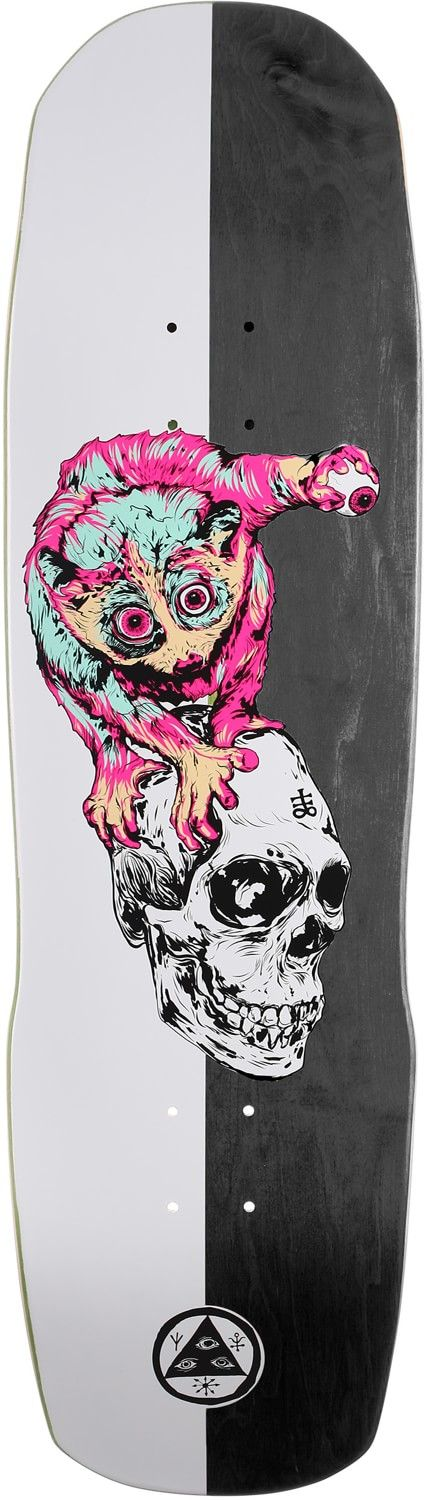 Welcome Loris Loughlin 8.8 Totem Shape Skateboard Deck - Free Shipping
