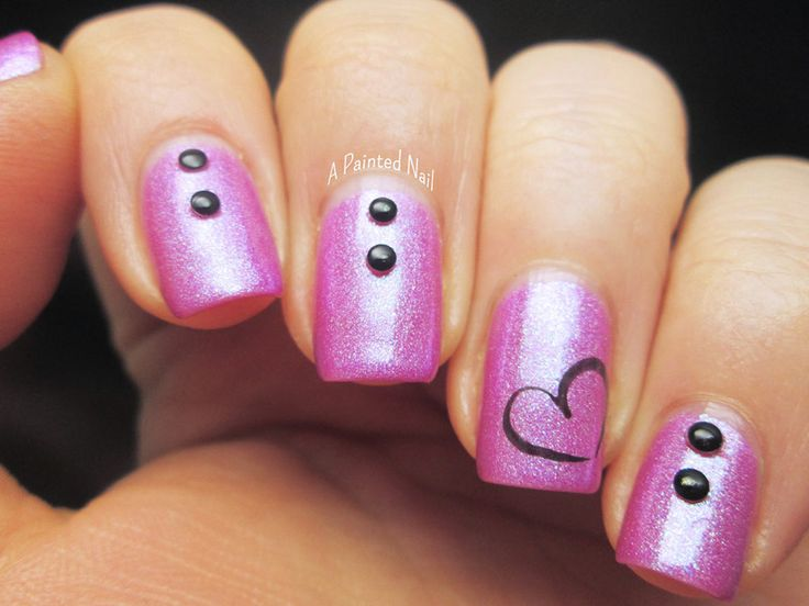 The 25 best nail designs 2014 ideas on pinterest bridal nail 20 modish and stylish valentines nail designs 2014 prinsesfo Choice Image