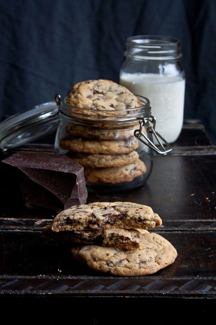 The absolute best ever chocolate chip cookies