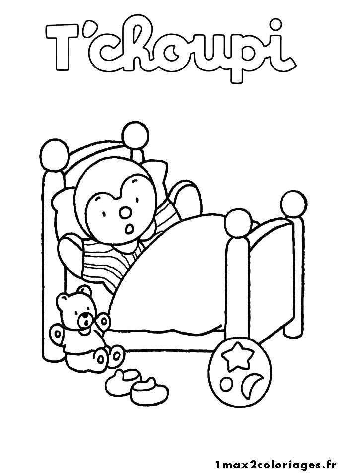 144 best images about t 39 choupi on pinterest - Coloriage choupi ...