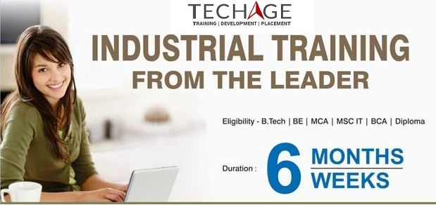 Join IT Industrial Training for Various technologies with TechAge Academy at Noida.Call For More Details: +91-9212063532, +9212043532 Visit:http://www.techageacademy.com/courses/industrial-training/