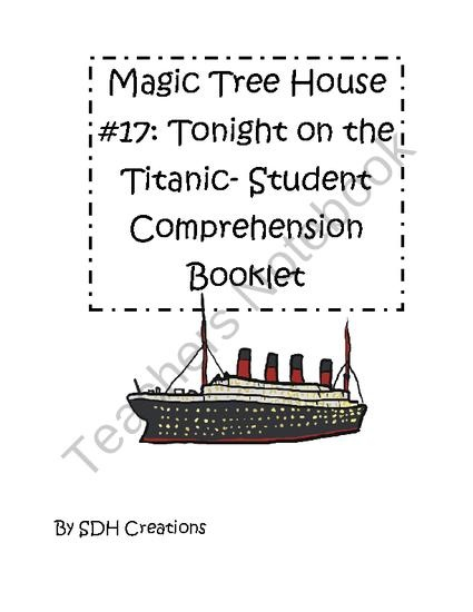 magic tree house titanic pdf