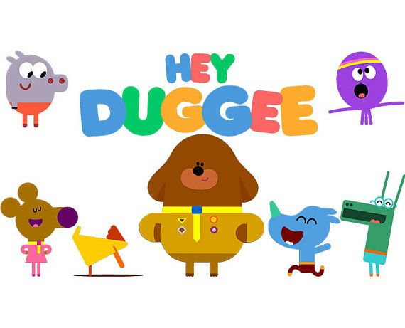 Hey Duggee Characters and Logo PNGs & SVGs by ProfessionalSVG