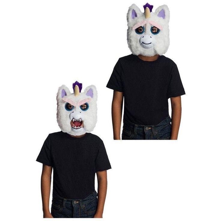 Rubie S Feisty Pets Glenda Glitterpoop Unicorn Child Costume Mask Kids Costumes Pet Costumes Pets