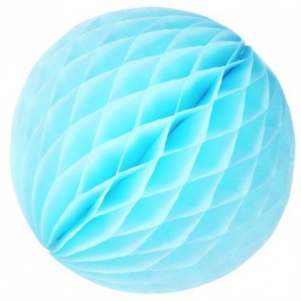 30cm Tissue Paper Ball (light blue)