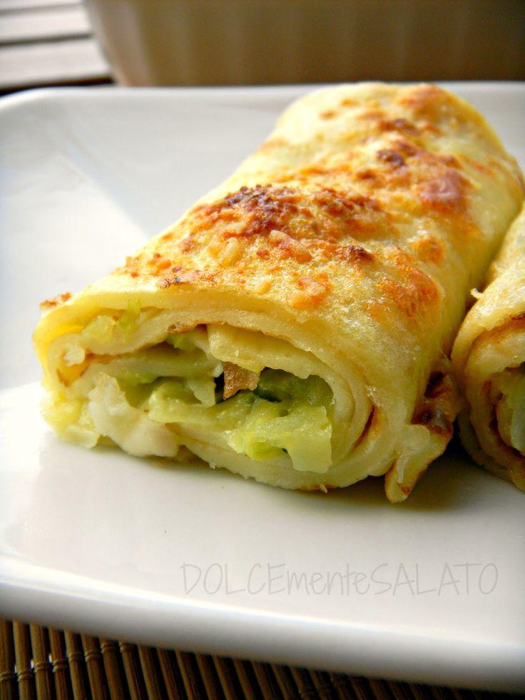 """Un piatto unico, ricco, completo e super gustoso. Ho preso ispirazione per il ripieno da una ricetta  di Sara del blog """"Di pasta Imp..."""