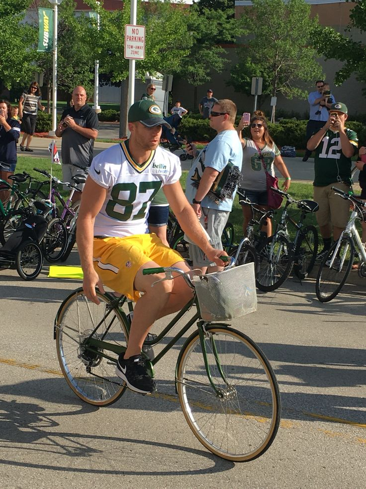 Jordy Nelson Packers Training Camp 2016