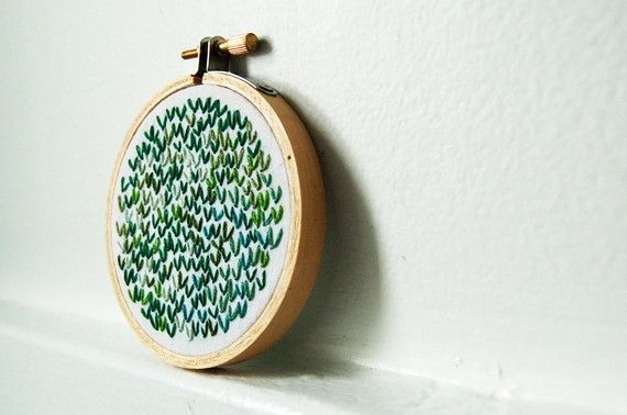 cute 3inch embroidery