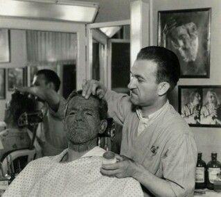 Jack Pierce transforming Boris Karloff into Imhotep - The Mummy (1932)