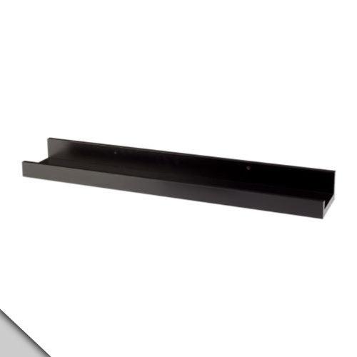 Smland Bna IKEA - RIBBA Picture ledge, black 22 $19.95