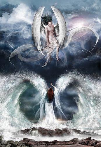 Los ÁNGELES NO te AYUDAN si NO se lo PIDES.  Sólo los espíritus maléficos se permiten entrar sin autorización. Esto es, precisamente, lo que diferencia a los espíritus luminosos de los ...