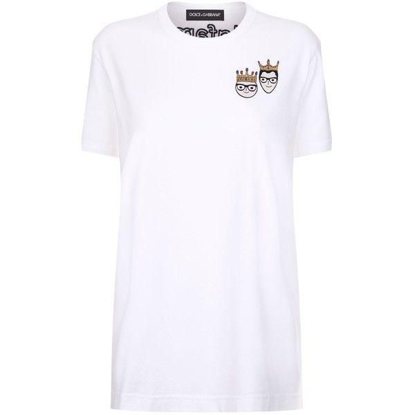 Dolce & Gabbana Embroidered #DGFamily T Shirt (1.255 BRL