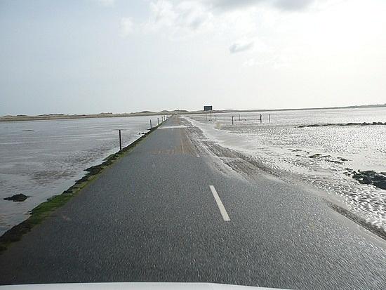 holy island causeway