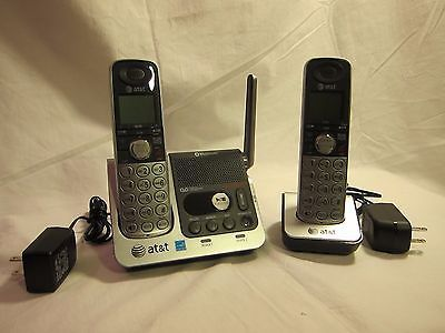 AT&T DECT 6.0 TL92270 Bluetooth Cordless Speaker Phone x2