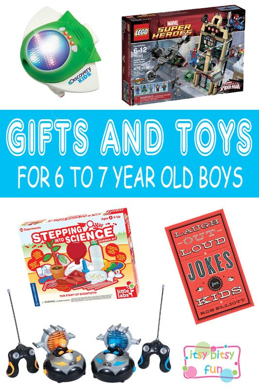 Best Gifts For 6 Year Old Boys. Lots of Ideas for 6th Birthday, Christmas and 6 to 7 Year Olds