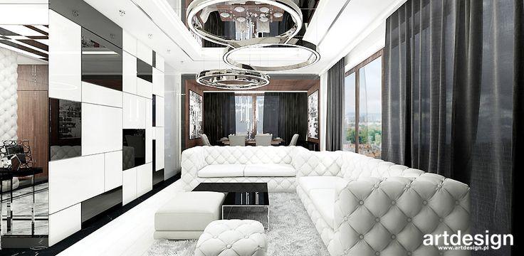 DREAMS COME TRUE | Wnętrza apartamentu | Projekt salonu