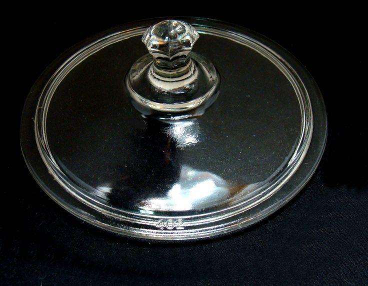 Vintage Pyrex glass lid - old pyrex glass lid - pyrex 402 glass lid - pyrex bowl lid - old pyrex bowl lid by BECKSRELICS on Etsy