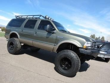 2001 Ford Excursion Limited 4x4--roof rack