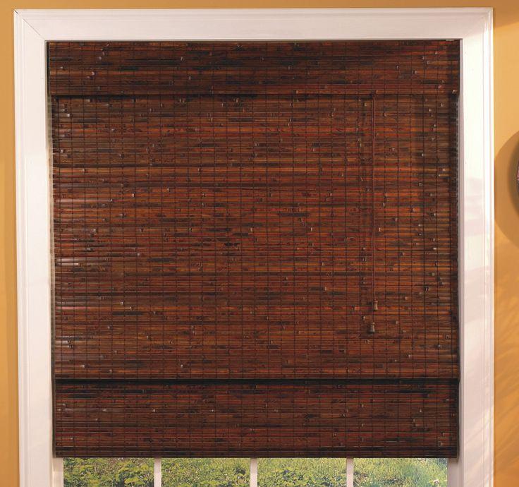 1000 Ideas About Bamboo Roman Shades On Pinterest Roman