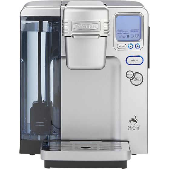 Cuisinart ® Single Serve Coffee Maker in Coffee Makers | Crate and Barrel