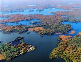Cisco Chain Of Lakes/Sylvania Wilderness - Attractions in Michigan's Upper Peninsula