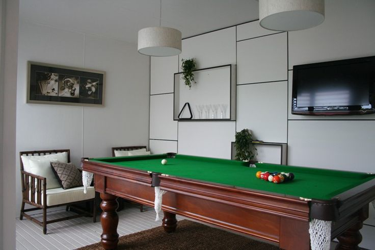 The renovation of a billiard room completed by Matthew Campbell at a property in Eastwood, Sydney.
