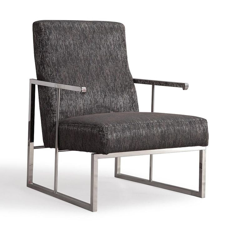 TOV Furniture Modern Liv Metallic Black Chair TOV-S6106