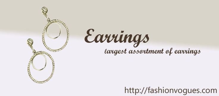 Choose from fashionable hoop or clip-on earrings and classic stud earrings in a wide selection of sterling silver and gold designs. http://tinyurl.com/k5524nf