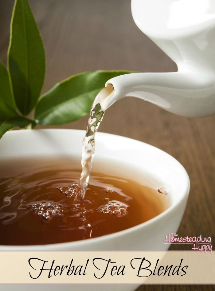 Drinking herbal teas are a great way to get some of the benefits of the herbs in a soothing drink. Pick a favorite and start enjoying today! The HomesteadingHippy