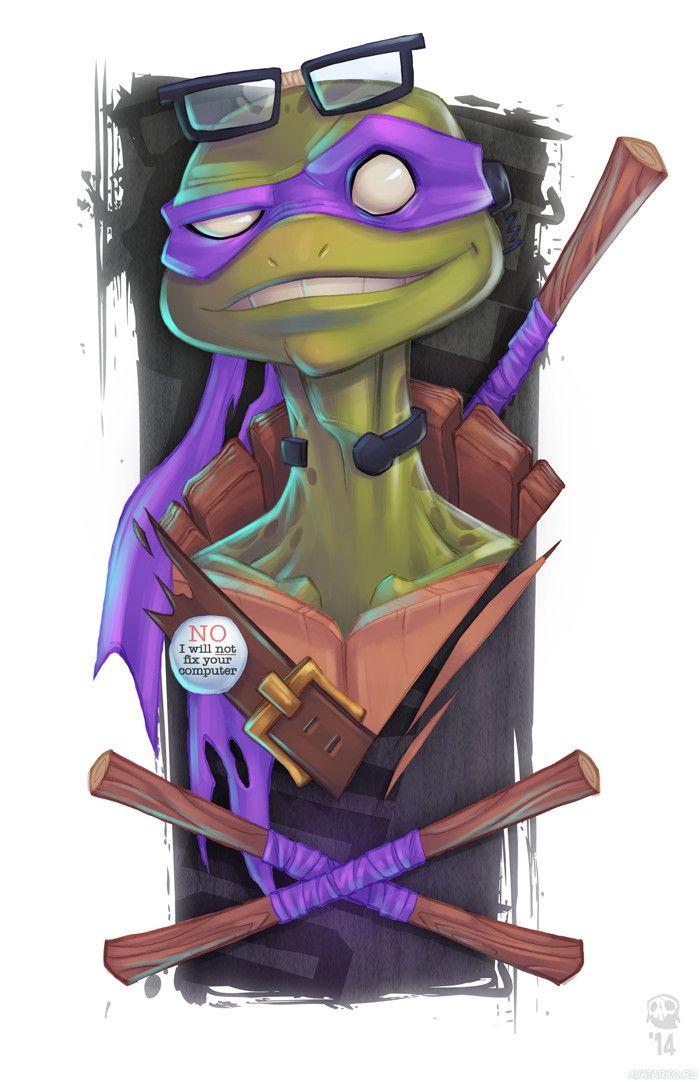 Cherepashki Nindzya Ochki Donatello Avatary Kartinki Avy Https Avatarko Ru Kartinka 31536 Cherepashki Nindzya Nindzya Supergeroi