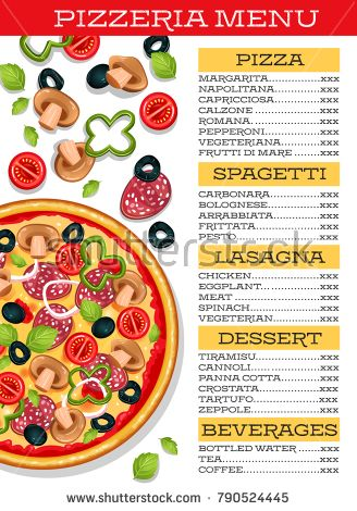 Best 25+ Pizzeria menu ideas on Pinterest Pizza menu, Restaurant - sample menu template