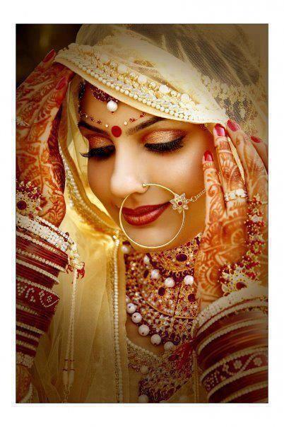 Dulhan Indian bride Desi wedding Punjabi  ❤❤♥For More You Can Follow On Insta @love_ushi OR Pinterest @ANAM SIDDIQUI ♥❤❤