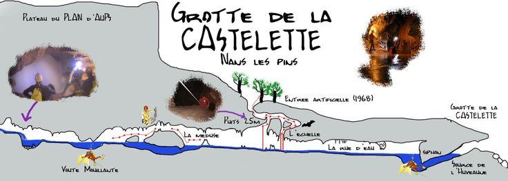 Inscription à une sortie en spéléologie sur le massif de la Sainte Baume en Provence et à proximité de Marseille - Active-Road