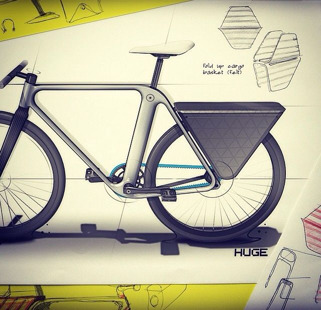 Sketches we like / marker / rendering / Bicycle / at HugeSF