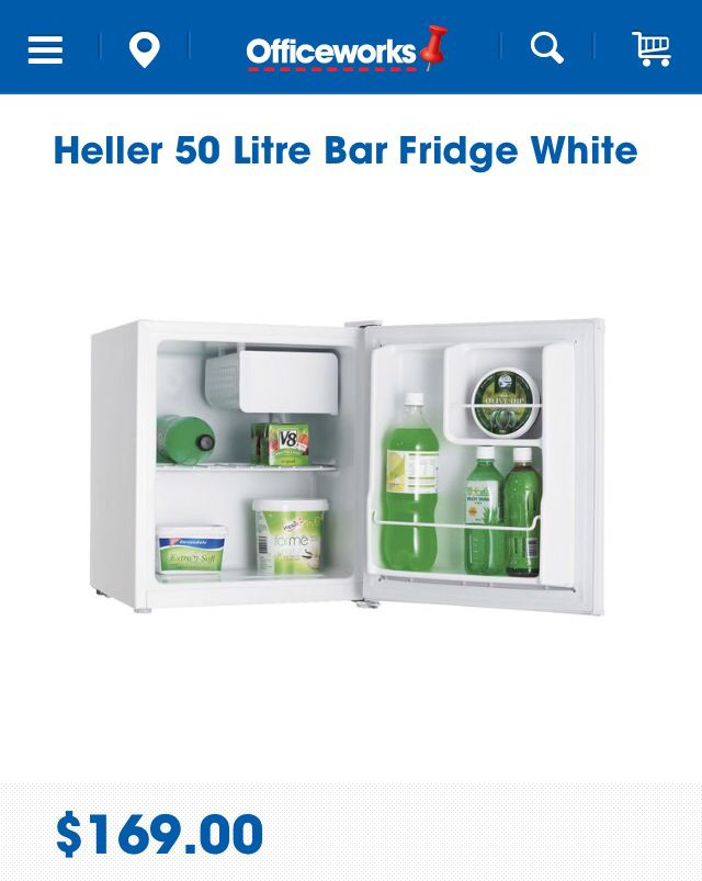 Is a bar fridge too much?!! Would save the walk downstairs to the kitchen and increase productivity (I'm sure)