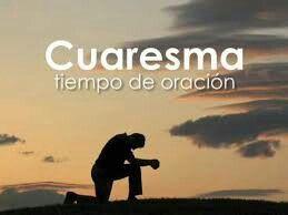 La oración es la primera actividad de la Cuaresma; es un tiempo muy apto para renovarla🌌 #Ora
