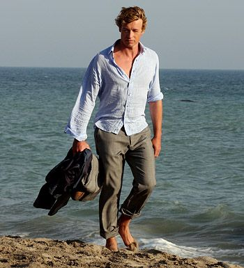 Simon Baker: Hottest Male, Simon Baker, Photo Slideshow, The Mentalist, Mentalist Mania, Male Celebrity, Beautiful People, Male Beaches Photoshoot, Male Stars