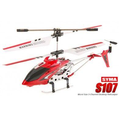Helikopter S107 to produkt znanej firmy Syma, jest to 3 kanałowy mini helikopter. Precyzyjny lot zapewnia zastosowanie systemy stabilizacji lotu. Nawet początkujący fan modeli rc bez trudu nauczy się sterowania, wykonywania skomplikowanych manewrów czy zawiśnięcia w powietrzu. Opis, dane techniczne, komentarze oraz film Video znajdziesz na naszej stronie, nie ma jeszcze komentarzy, to czemu nie zostawisz swojego:)