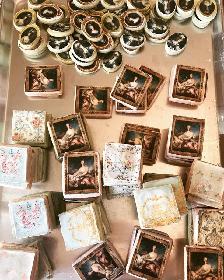Rococo Inspired Cookies by Dish Catering Los Angeles