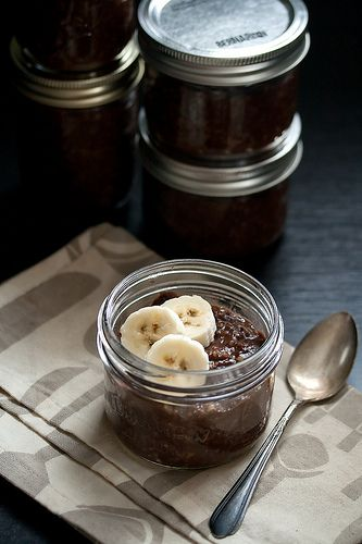 Make-Ahead Chocolate Oatmeal by Isabelle @ Crumb, via Flickr