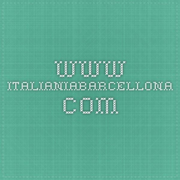 """Un altro sito della comunità italiana a Barcellona. Con """"il manuale di sopravvivenza a Barcellona"""""""
