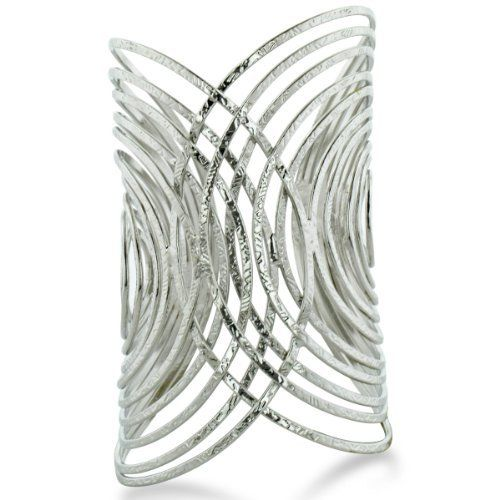 Trendy Wire Wrapped Statement Cuff Bracelet, Fits 7 To 8 Inch Wrist SuperJeweler. $14.99. Fun Cuff Bracelet. All purchases from SuperJeweler come with The SuperJeweler Lifetime Guarantee. Your SuperJeweler jewelry purchase includes a lifetime guarantee against the loss of side stones or damage to the jewelry's setting or center stone. It also includes a one-year replacement guarantee against the loss of your jewelry's center stone.. Save 50% Off!