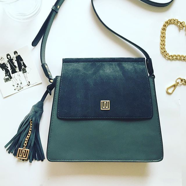 :: NEW ARRIVAL :: The Mademoiselle in all charcoal Nappa and Suede Leather featuring a monogrammed tassel. Shop it at 40% off in our last chance Christmas Sale use code XMAS40. Sale ends Monday. 🎄🛍🎁 #accessoriesoftheday #mademoiselle #suede #charcoal #handbags #accessories #shopsmall #designerfashion #fashionblog #everydaycarry #saturdaymorning #justperfect #love #instalove