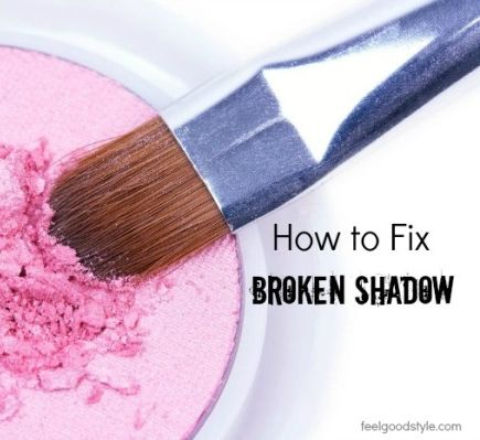 Favorite shadow gone bust? It happens. Don't pitch it just yet. Learn how to fix broken eyeshadow and quit trashing your remnants. You won't believe how easy it is.