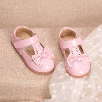 Baby Girl's Pretty Bow Mary Jane Shoes