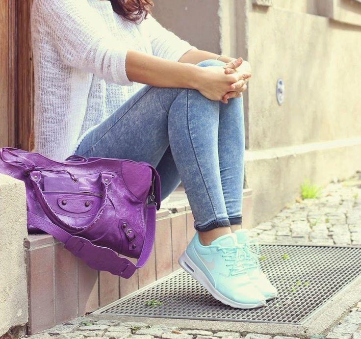 Wmns Nike Air Max Thea Grey Turquoise White