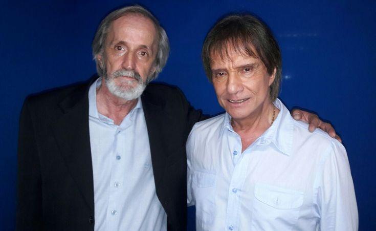 Show,Roberto Carlos,Ibirapuera Geraldo Wiss Filho ''Dinho Wiss'' Assessor de Geraldo Alves e o Amigo Roberto Carlos.
